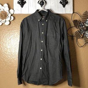 4/$25 Medium MERONA Button down dress shirt